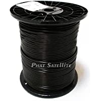 COMMSCOPE RG-6 Professional Underground RG6 COAXIAL Gel Coated Direct Burial Cable Black 1000ft Bulk Reel MADE IN USA
