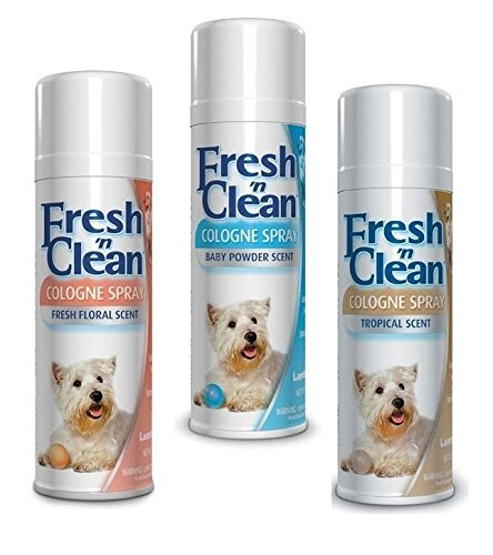 Scented Colognes for Pets 12 oz Keep Your Dog Smelling Fresh 3 Scents To Choose (Full Set - All 3 Scents)