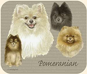 Pomeranian Mouse Pad by Fiddler's Elbow - M96