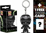 Alien: Pocket POP! x Alien Mini-Figural Keychain + 1 FREE Classic Sci-fi Movies Trading Card Bundle (109826)
