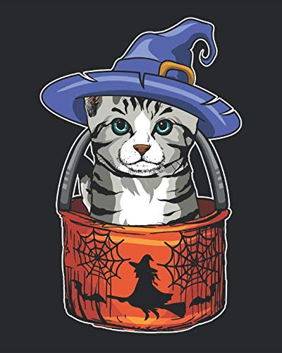 (Halloween Cat Blank Comic Creator Book: For Creating Your Own)