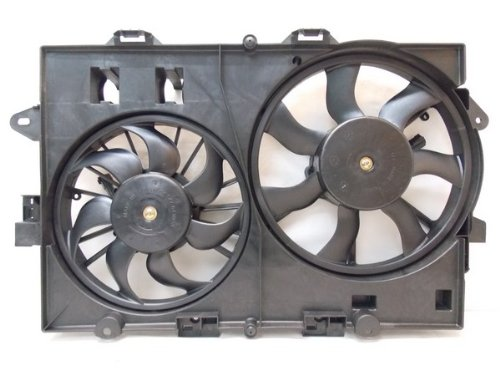 RADIATOR CONDENSER COOLING FAN FOR CHEVY SUZUKI TORRENT EQUINOX GM3115226 by Sunbelt Radiators