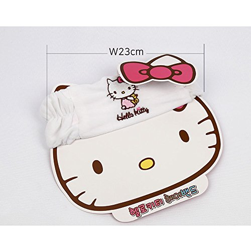 Hello Kitty Hair Wrap,Kitty Head Band,Hair Band for Bath Wash for Girls -