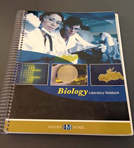 Biology Laboratory Notebook