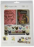 "Pairing artwork from the lucky charm collection-designed by dear Lizzy-with gold foil throughout gives us a stunning value kit that is sure to add that something special to your photos plus journaling. This kit contains 130 pieces: (30) 4"" x ..."