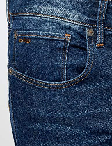 medio Jeans star Bleu D008 Homme G Raw 071 invecchiato BT6qgcwW