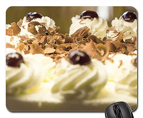 - Mouse Pad - Black Forest Cake Cake Cream Dessert Food Calories 1