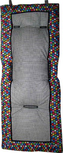 SheetWorld Colorful Bubbles Stroller Liner - Made In USA
