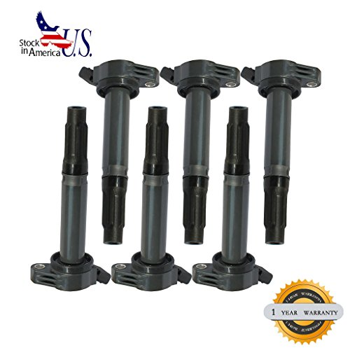 Lexus Coil Es350 Ignition (DEAL 6pcs Brand New Ignition Coil For Lexus ES350 IS350 RX350 RX450H/ Toyota Avalon Camry Highlander Rav4 Sienna Venza 3.5L V6)