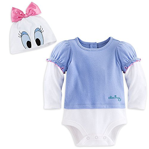 Daisy Costumes For Baby (Disney Store Daisy Duck Halloween Costume Bodysuit Size 18 - 24 Months 2T)