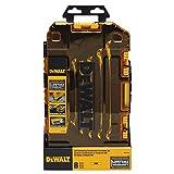 DEWALT DWMT74734 Full Polish Ratcheting Combination Wrench Set