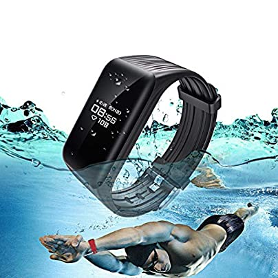 NDHUC Smart Bracelet Heart Rate Monitor Activity Tracker Wristband Android Ios Phone Waterproof Passometer Estimated Price £36.00 -