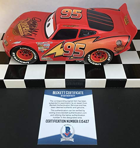 Used, KACHOW!!! Owen Wilson CARS Signed 1:24 LIGHTNING MCQUEEN for sale  Delivered anywhere in USA