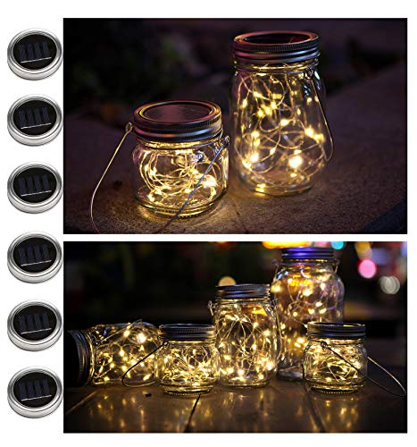Solar Led Mason Jar Lights in US - 4