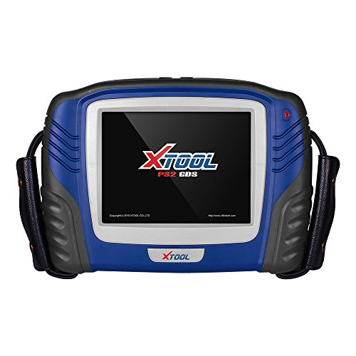 XTOOL PS2 GDS VCI Hand-held Benzine Car Auto Diagnostic Tool EPB/TPS/Oil Reset ABS SRS Transmission Full System Key Programmer No Plastic Box No Update with Printer