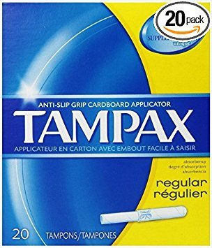 Flushable Applicator - Tampax Tampons with Flushable Cardboard Applicator - Regular - 20 ct
