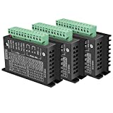 3 PCS of TB6600 Stepper Motor Driver, Abuff 5A 9-40V Nema 17 Stepper Motor Driver CNC Controller Single Axes Hybrid Stepper Motor Controls