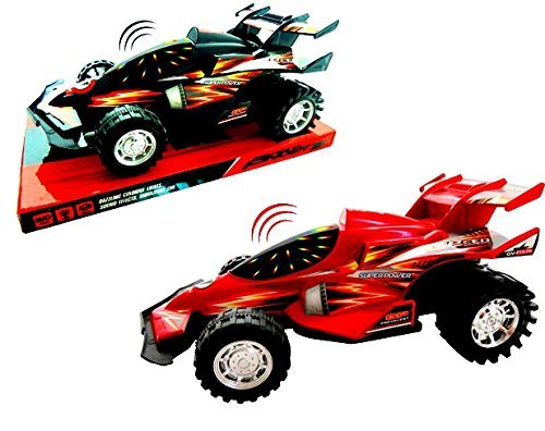 LIKE HOT WHEELS FRICTION SPEED RACER TOY CAR w/ 3D LIGHTS & SOUNDS-BATTERIES INCLUDED from G2BD