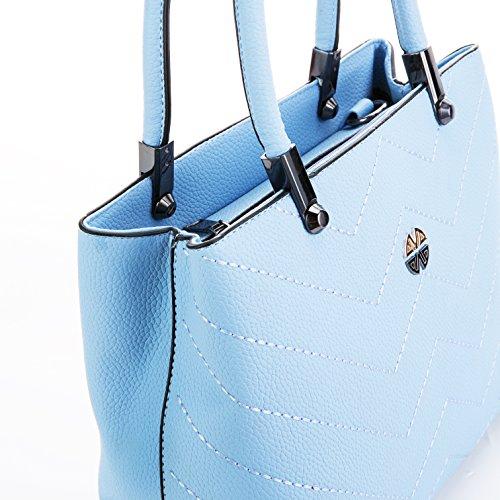 Minch Women PU Leather Designer Tote Handbags Shoulder Bags for Work ... 0815d16b50