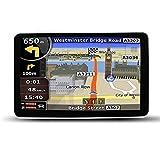 EASYOWN CS706 7 Inch Car GPS Windows CE 6.0 8GB HD Screen Navigation System