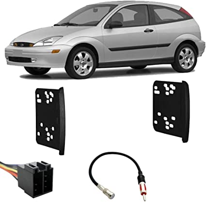 Ford Focus 2003-2004 Factory Stereo to Aftermarket Radio Harness Adapter