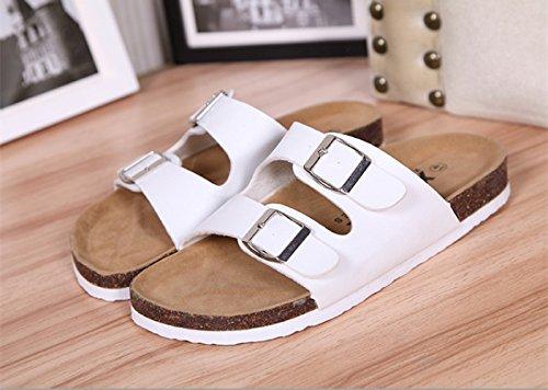 Extérieur White Sandales La Anti 43 A 41 Pantoufles des De De des Pantoufles Amoureux Dérapantes GUANG Nouveaux Commerce XING Mode wOpxqXUSS