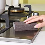 YJYDADA Sponge Carborundum Brush Kitchen Washing Cleaning Kitchen Cleaner Tool