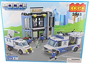 Cogo 3915 Police Action building blocks set