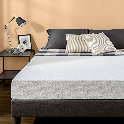 Zinus 8 Inch Gel-Infused Green Tea Memory Foam Mattress, Que