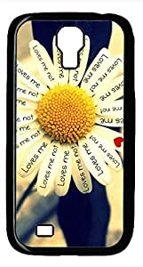 Samsung Galaxy S4 I9500 Black Hard Case - Loves Me Galaxy S4 Cases by Maris's Diary