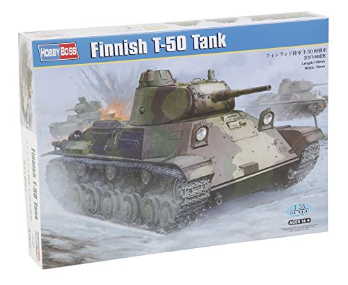Hobby Boss 1/35 Finnish T-50 Tank Model Kit for sale  Delivered anywhere in USA
