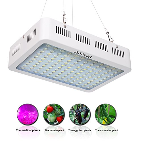 JUHANG LED Plant Grow Light 1200W Dual Chips with Zener Protector for Indoor Garden Hydroponic, Greenhouse Flowers Vegetables and Marijuana by JUHANG