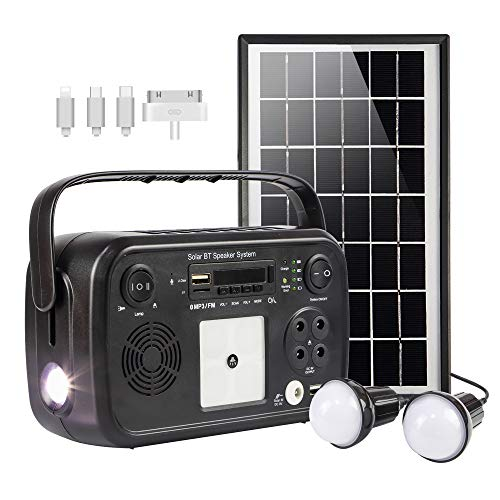 soyond Portable Solar Generator with Solar Panel Solar Powered Generator