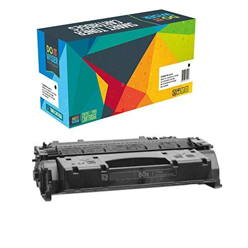 Do it Wiser CF280X 80X CE505X Compatible Toner for HP Laserjet P2055dn Laserjet Pro 400 m401 m401a m401d m401n m401dn m401dne m401dw m425dn m425dw - 6,900 Pages