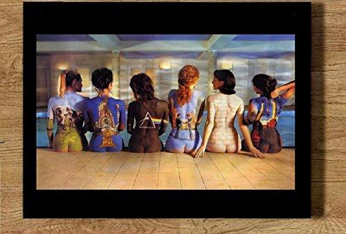 Quadro 21x30cm com moldura Album Pink Floyd Ladyes