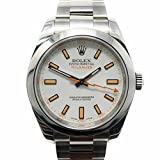 Image of Rolex Milgauss swiss-automatic mens Watch 116400 (Certified Pre-owned)