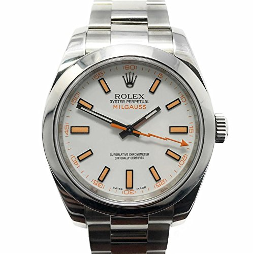 Rolex-Milgauss-swiss-automatic-mens-Watch-116400-Certified-Pre-owned
