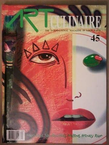 Art Culinaire: The International Magazine In Good Taste (Meringue, Sandwiches, Melons, Honey, Rum) (Vol. - Culinaire+ Collection