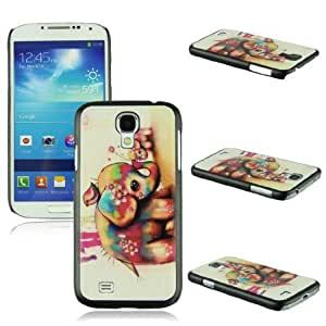 Voberry Hot Sale Cute Printed Pattern Plastic Back Skin Case Cover For Samsung Galaxy S4 IV i9500(9)