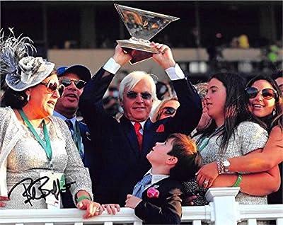 Bob Baffert autographed 8x10 photo (Horse Racing Kentucky Derby Triple Crown Trainer American Pharoah) Image #13