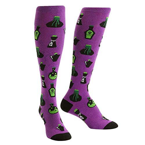 (Sock It To Me, Knee High Funky Socks: Food and Drink (Dark)