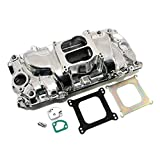 Assault Racing Products PC3000 Chevy Big Block Dual Plane Oval Port Polished Aluminum Intake Idle-6000 RPM BBC
