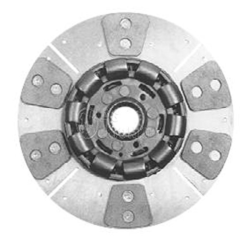 "W161153 HD6 11"" Single Stage Clutch Disc For Oliver 88 Super 88 770 880 1550 -  AGmonkey"