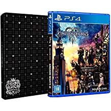 Kingdom Hearts lll - Brinde Steelbook - PlayStation 4