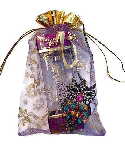 Mother's day Gift set, Includes Taylor Swift Perfume Spray & a beautiful Owl Necklace in a pouch