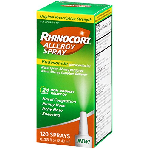 Rhinocort Allergy Spray, 120 Spray