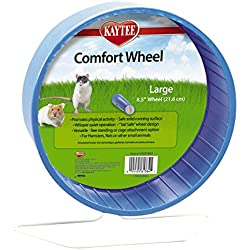 "Kaytee Comfort Exercise Wheel, 8.5"", Large, Colors Vary"