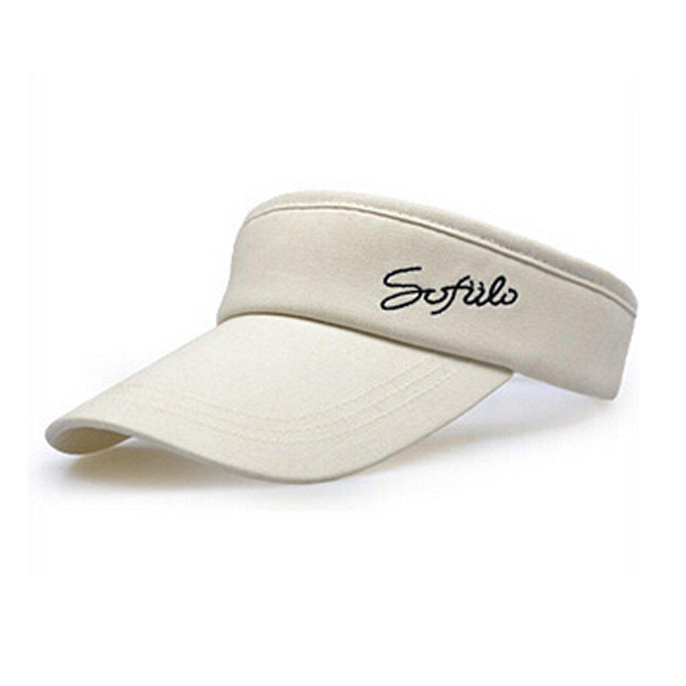 Mode Sport Cap capeline visière, tennis réglable Chapeaux