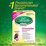 Culturelle Kids Chewables Probiotic 5 Billion Active Cultures (Berry Flavor) - Pack of 60 Tablets