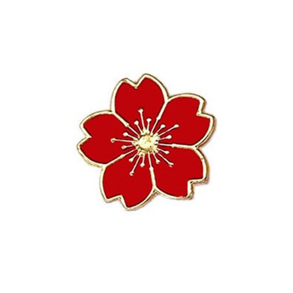 Cdet Femme Bijoux Broche Epingle en Alliage Petite forme de fleur corsage brooch de décoration Mode élégante Filles Style Nouveau 1PC